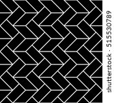 abstract geometric black and... | Shutterstock .eps vector #515530789