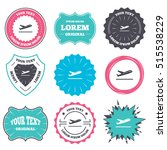 label and badge templates.... | Shutterstock .eps vector #515538229