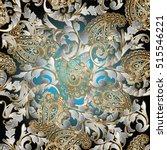 paisleys seamless pattern... | Shutterstock .eps vector #515546221