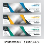abstract banner design... | Shutterstock .eps vector #515546371