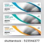 abstract banner design...   Shutterstock .eps vector #515546377