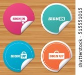 round stickers or website... | Shutterstock .eps vector #515551015
