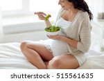 pregnancy  healthy food and... | Shutterstock . vector #515561635
