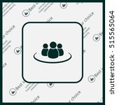 group of people sign icon   Shutterstock .eps vector #515565064