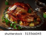 Roasted Turkey With Fresh...