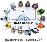 cloud storage information... | Shutterstock . vector #515566297