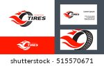 tires logo design template ... | Shutterstock .eps vector #515570671