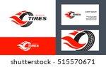 tires logo design template ... | Shutterstock .eps vector #515570671