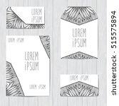 set of vector design for cover. ... | Shutterstock .eps vector #515575894
