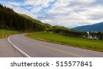 drive highway road from oslo to ... | Shutterstock . vector #515577841