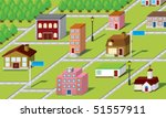 3d vector map | Shutterstock .eps vector #51557911