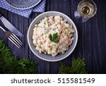 traditional russian christmas... | Shutterstock . vector #515581549