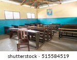 Simple Class Room In Village...