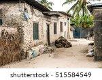 Simple Street In African...