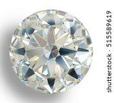 Picture Diamond Jewel On White...