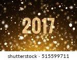 2017 card or banner template.... | Shutterstock . vector #515599711
