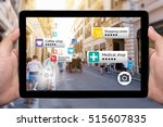 augmented reality marketing... | Shutterstock . vector #515607835