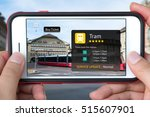 augmented reality marketing... | Shutterstock . vector #515607901