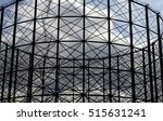 gas holder structure east... | Shutterstock . vector #515631241