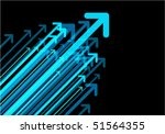 arrows background | Shutterstock .eps vector #51564355