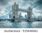 tower bridge in london  united... | Shutterstock . vector #515646061