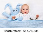 funny little baby wearing a... | Shutterstock . vector #515648731