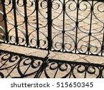 Ornate Wrought Iron Fence...