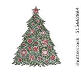 vector illustration color... | Shutterstock .eps vector #515662864