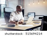 adult professional businessman... | Shutterstock . vector #515694214