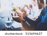 close up view of young business ... | Shutterstock . vector #515694637