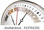 time for recognition... | Shutterstock . vector #515701231