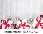christmas gift background | Shutterstock . vector #515717767