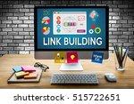 link building connect link...   Shutterstock . vector #515722651