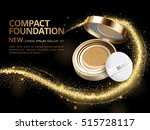 attractive compact foundation... | Shutterstock .eps vector #515728117