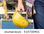 worker in a construction site | Shutterstock . vector #515730901