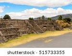 avenue of the dead of... | Shutterstock . vector #515733355