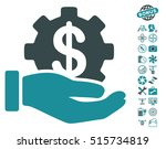 development service icon with... | Shutterstock .eps vector #515734819