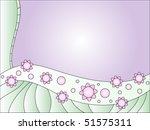 floral vector background | Shutterstock .eps vector #51575311