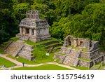 aerial panorama of palenque...