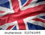 waving colorful national flag... | Shutterstock . vector #515761495