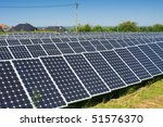 series of photovoltaic solar... | Shutterstock . vector #51576370