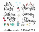 season life style inspiration... | Shutterstock .eps vector #515764711