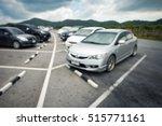 car parking on blur background... | Shutterstock . vector #515771161
