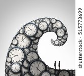 overwhelmed schedule and...   Shutterstock . vector #515773699