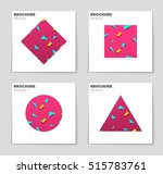 abstract vector layout... | Shutterstock .eps vector #515783761