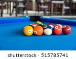 snooker game or billards pool... | Shutterstock . vector #515785741