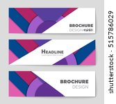 abstract vector layout... | Shutterstock .eps vector #515786029