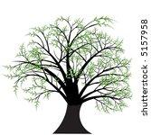 beautiful vector tree design | Shutterstock .eps vector #5157958