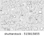 school and education background ... | Shutterstock .eps vector #515815855