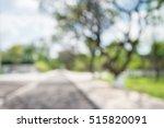 abstract blur city park bokeh... | Shutterstock . vector #515820091